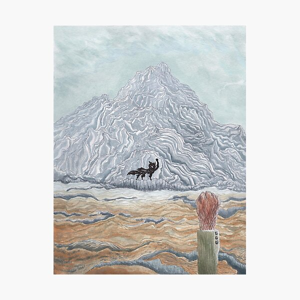 The Winter Wolf - Fantastic Mr Fox by wes Anderson Photographic Print