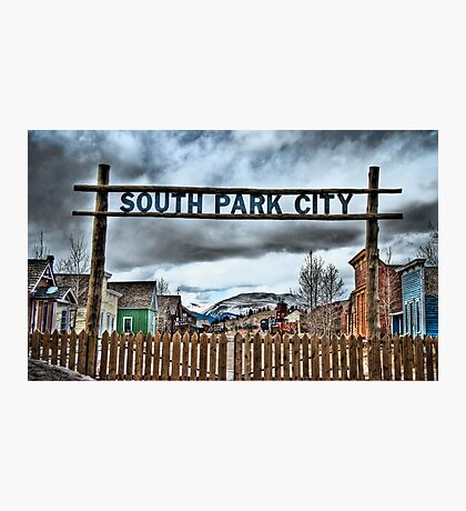 South Park City Photographic Print