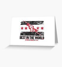 WWE - CM Punk  Greeting Card