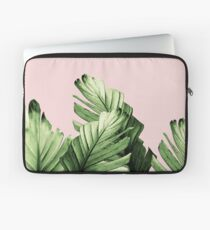 Funda para portátil Blush Banana Leaves Dream # 1 #tropical #decor #art