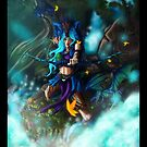 Dragon Huntress by SyrazelNytRose