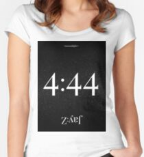 4:44 Jay Z Moonlight Women's Fitted Scoop T-Shirt