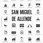 San Miguel de Allende, Mexico (black ink) by AAAlves