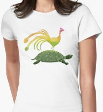 Phoenix & Turtle Womens Fitted T-Shirt