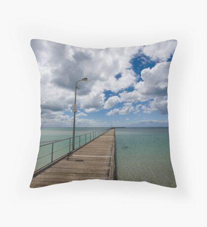 Rye Pier Throw Pillow