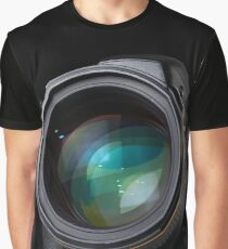 DSLR camera with lens Graphic T-Shirt