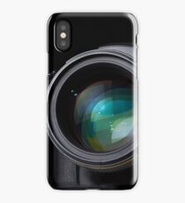 DSLR camera with lens iPhone Case/Skin