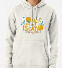 Sudadera con capucha una vez en este logotipo de renacimiento de la isla