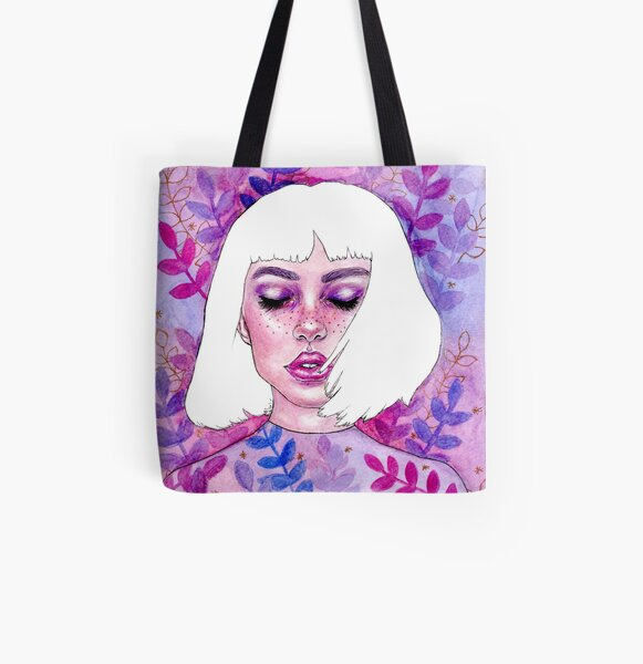 Purple dream All Over Print Tote Bag