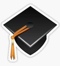 Graduation Cap Emoji Sticker Sticker