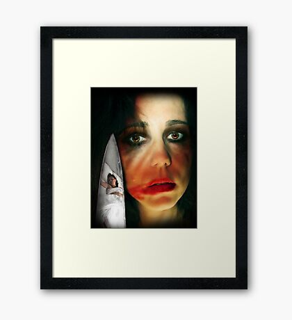 ~ I'll be watching you ~ Framed Print