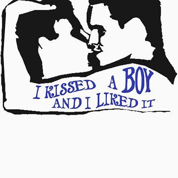 I kissed a boy (White) by drunkenvictim
