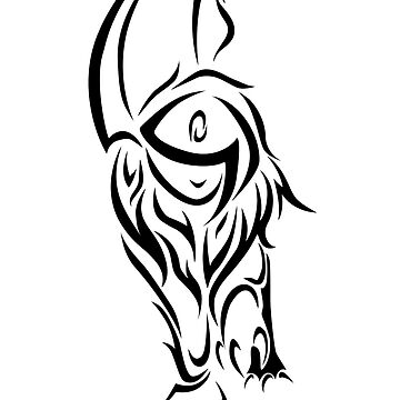 Tribal Absol by jewlecho