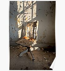 One Chair, One Window Poster