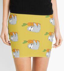 Carrot Sloth Mini Skirt