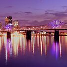 Louisville Kentucky Sunset by LizzieMorrison