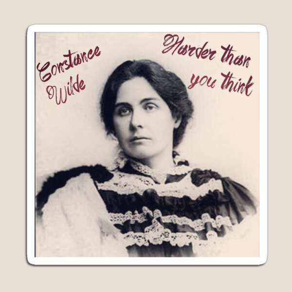Constance Wilde - Harder Than You think Magnet