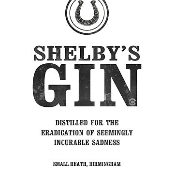 Peaky Blinders - Tommy Shelby Gin by eyevoodoo