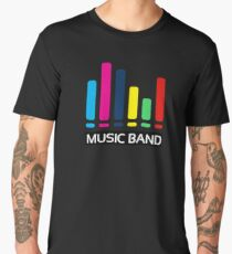 Music band T-Shirt Gift For Friend Gift For Boyfriend Gift For girlfriend. Men's Premium T-Shirt
