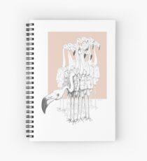 Weird & Wonderful: Flamingo Boys  Spiral Notebook