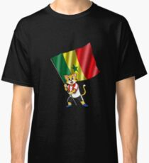 Senegal fan cat Classic T-Shirt