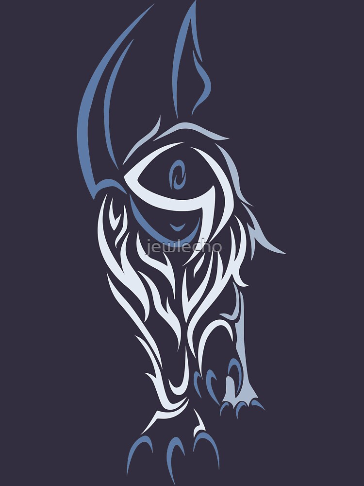 Tribal Absol Colored | Unisex T-Shirt