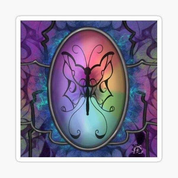 Holografic Flutter Sticker