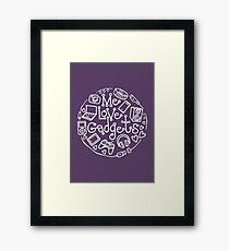 Gadget Love Framed Print