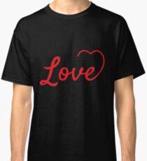 love t-shirt Classic T-Shirt