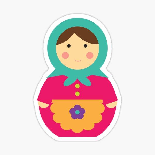 Matryoshka Doll Sticker