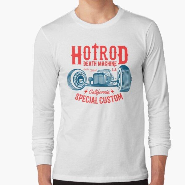Hot Rod Death Machine Long Sleeve T-Shirt