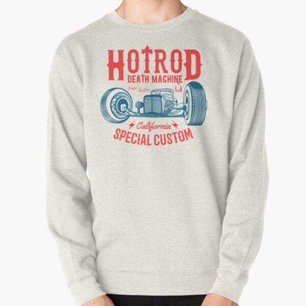 Hot Rod Death Machine Pullover Sweatshirt