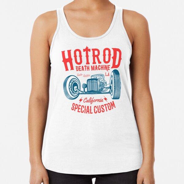 Hot Rod Death Machine Racerback Tank Top