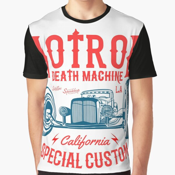Hot Rod Death Machine Graphic T-Shirt