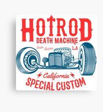 Hot Rod Death Machine Leinwanddruck
