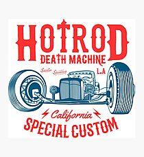 Hot Rod Death Machine Fotodruck