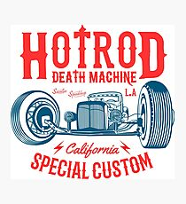 Hot Rod Death Machine Fotodruck