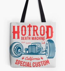 Hot Rod Death Machine Tote Bag