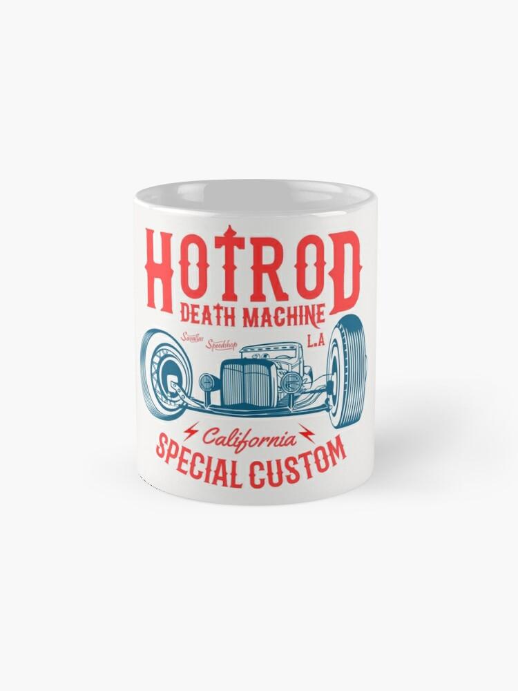 Alternative Ansicht von Hot Rod Death Machine Tasse