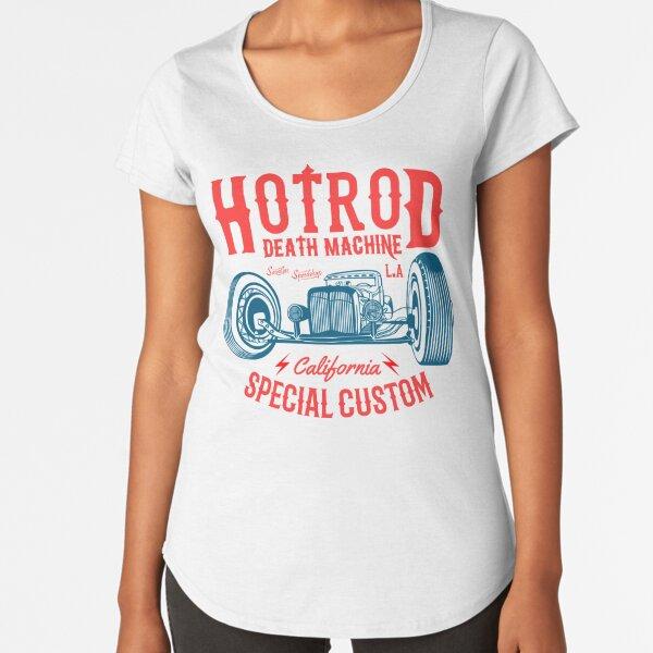 Hot Rod Death Machine Premium Scoop T-Shirt