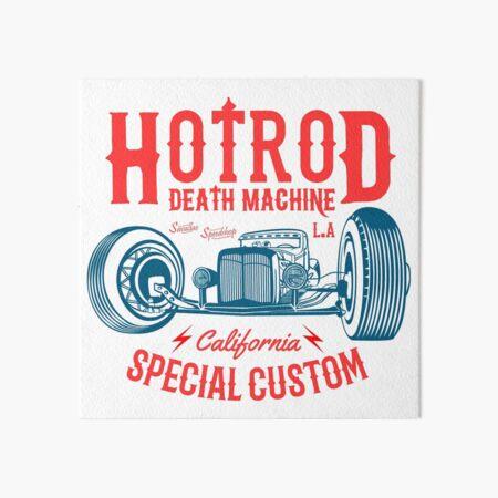 Hot Rod Death Machine Art Board Print