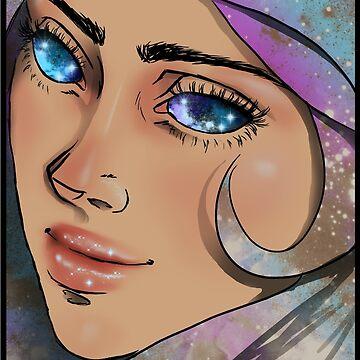 She's beauty, grace, goddess of outer space. by TobiasRosetta
