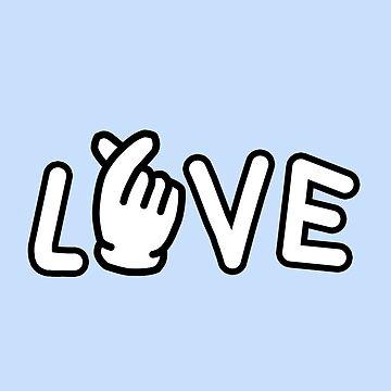 Finger Heart Love by theK-TREASURE