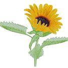 Sunflower by Linda Ursin