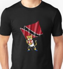 Trinidad and Tobago fan cat Unisex T-Shirt