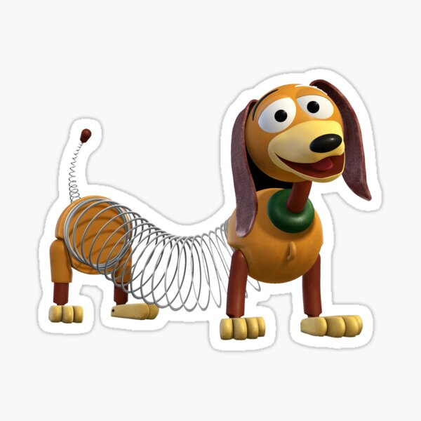Slinky Dog Sticker