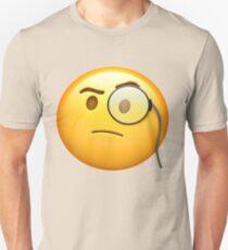Monocle Emoji Unisex T-Shirt