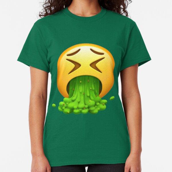 Vomit Emoji Classic T-Shirt