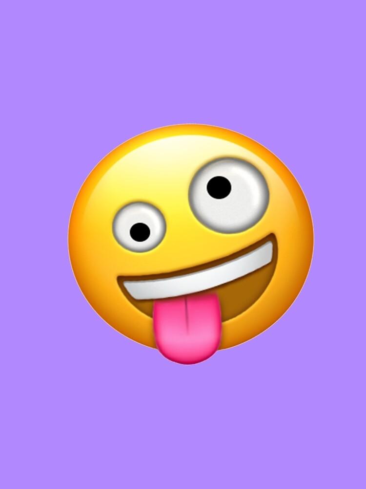 Crazy Face Emoji by stertube