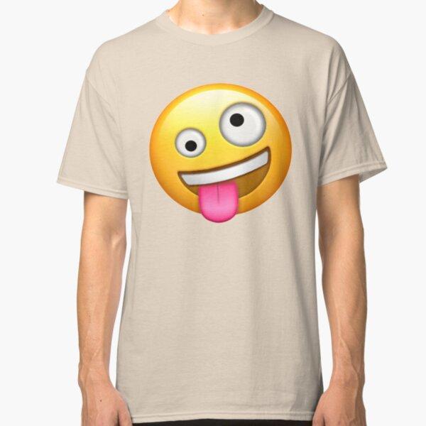 Crazy Face Emoji Classic T-Shirt